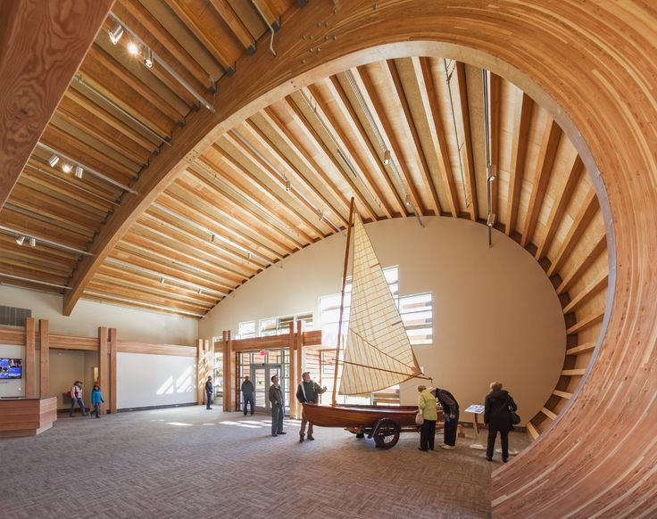 Gallery of Thompson Exhibition Building / Centerbrook Architects and Planners - 1