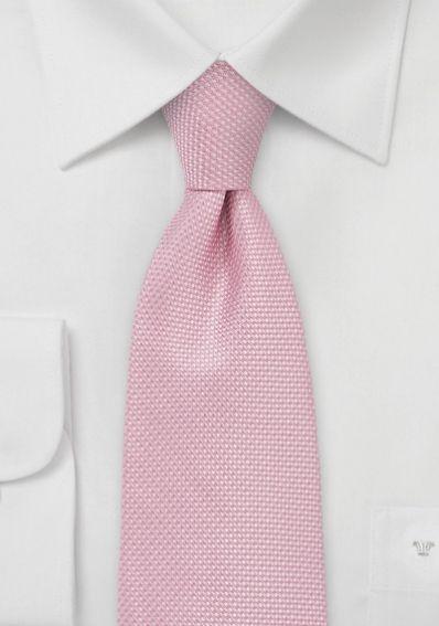 Krawatte rose strukturiert