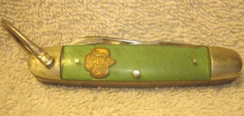 Vintage Kutmaster Girl Scout 4 Blade Folding Pocket Knife