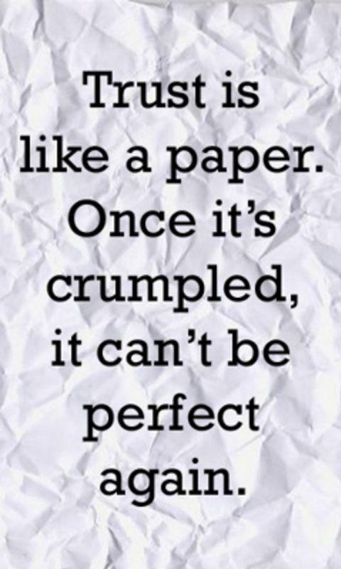 Trust..........*