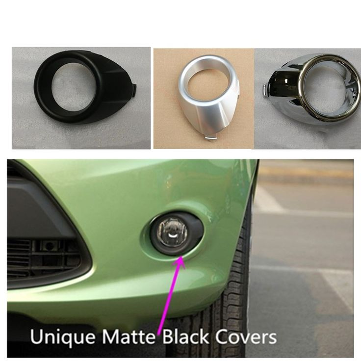2pcs/lot car exterior front light covers accessories for Ford Fiesta 2009 2010 2011 2012 #Affiliate
