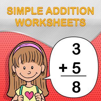 17+ ideas about Simple Addition on Pinterest   Kindergarten math ...