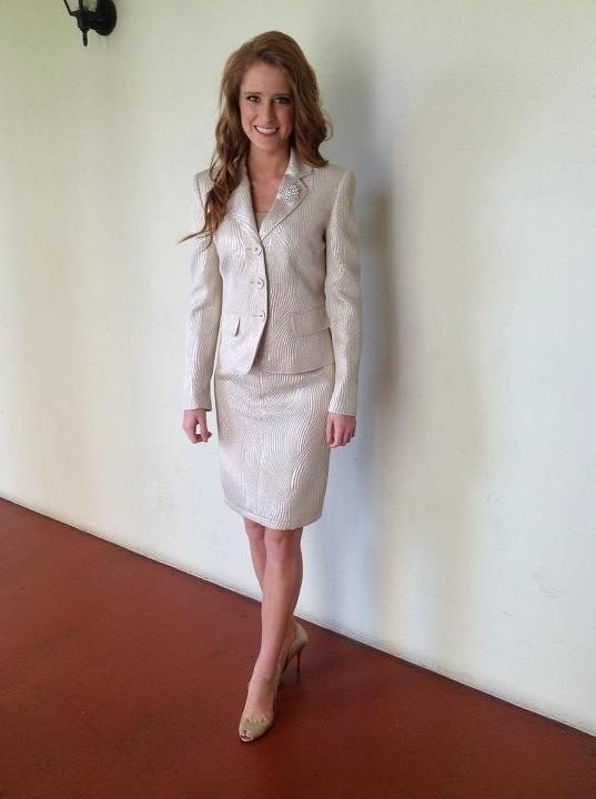 This Is A Very Dressy But Classy Skirt Suit I Think This