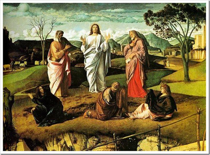 image_thumb_1.png (753×558) Джованни Беллини. Преображение. 1480-е
