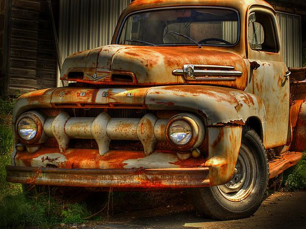 Old Ford Truck.