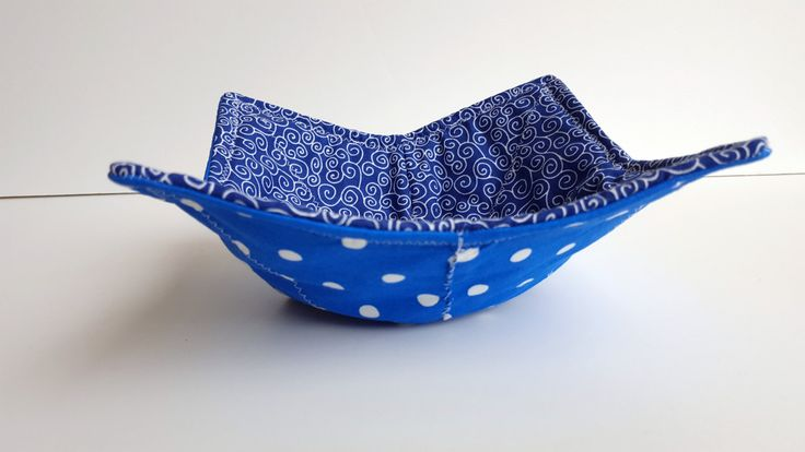 Microwave Bowl Cozy, 100% Cotton, Reversible, Kitchen Kozy, Bowl Hot Pad, Holiday, Christmas, Stocking Stuffer, Gift by HeadBandsByGiGi on Etsy