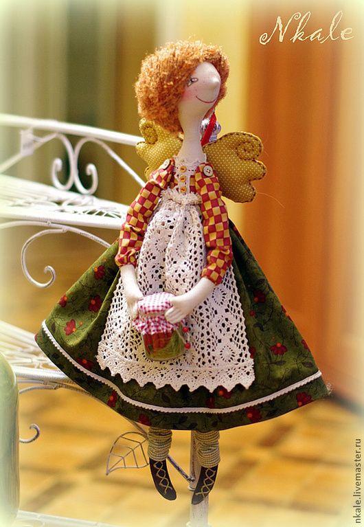 Купить Агния-Агнешка кухонная фея - рыжий, кухонная фея, интерьер кухни, подарок девушке