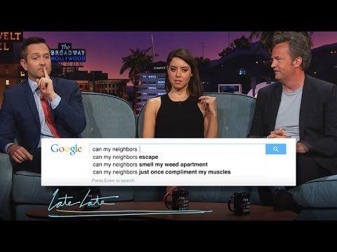 Guess Google with Thomas Lennon, Aubrey Plaza & Matthew Perry - Part 1 - YouTube