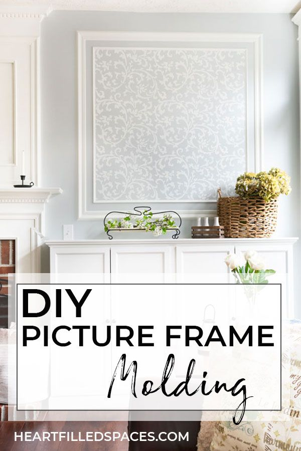How To Create An Accent Wall With Picture Frame Molding Picture