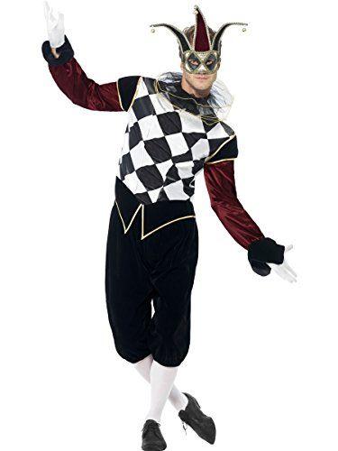 Harlequin Jester Costumes for Mardi Gras