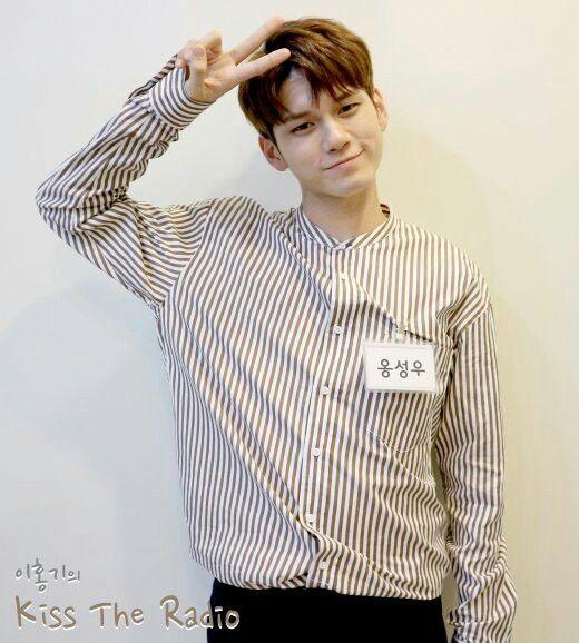 Seongwoo on Kiss the Radio