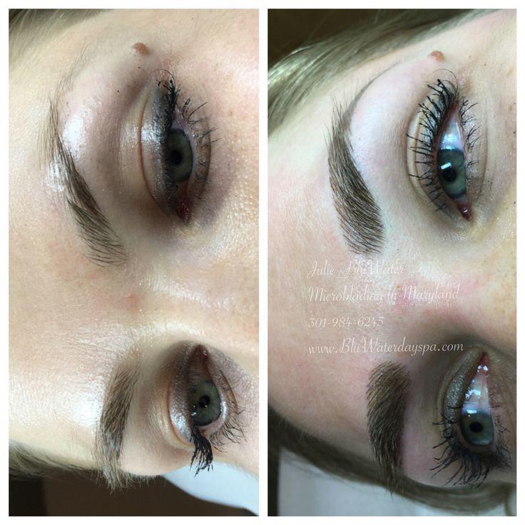 Microblading brows microblading eyebrows brows julie