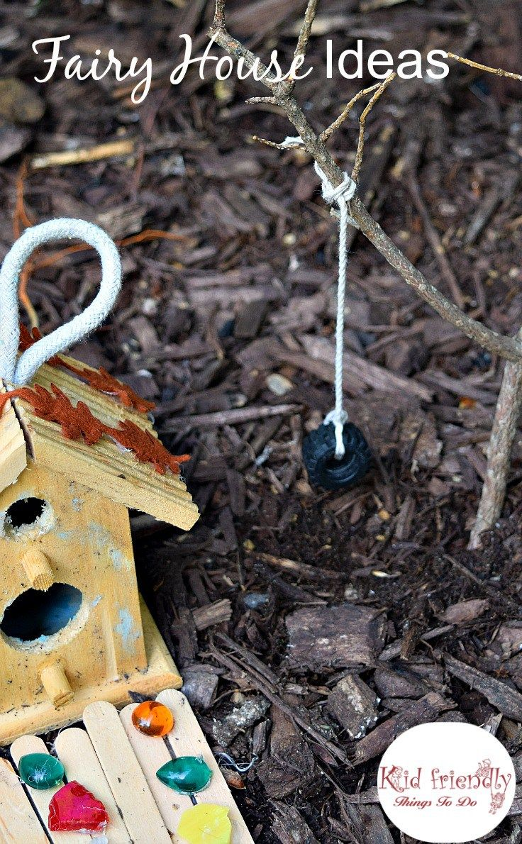 Or sleeping bags clothes pegs optional fairy lights optional - Over 15 Fairy Garden Ideas For Kids In The Garden