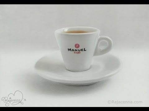 Amazing realistic drawing of a cup of coffee