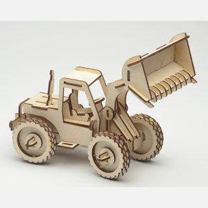 Brainteasers are a fun way to sharpen your logic skills—especially when there's a tangible reward at the finish line. These laser-cut wood puzzles from designer Cary Chleborad offer the mental workout you've been craving in 3D form. Assemble your way to a submarine, a racecar, a functioning tablet stand and more!