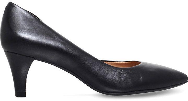 Carvela Comfort Amy leather court shoes
