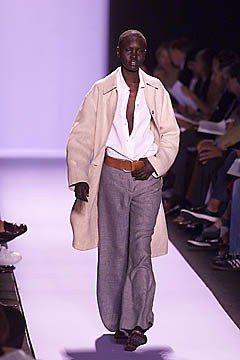 Michael Kors Collection Spring 2001 Ready-to-Wear Fashion Show - Alek Wek, Michael Kors