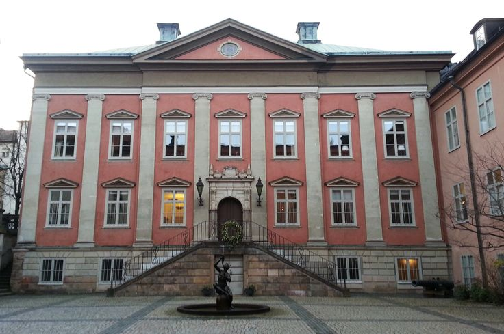 Louis de Geers 17th century palace in Stockholm, today it hosts the Deutch embassy but in 1953 this was the place where diamonds was first synthesised by man.