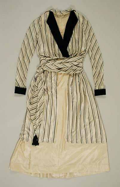 Afternoon dress Date: 1913–17 Culture: American or European Medium: silk, cotton Accession Number: 1976.290.5