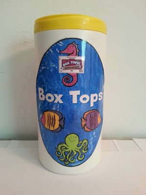 Box Top Label Holder
