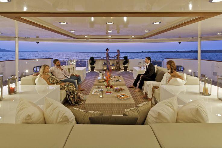 O'mega: Super yacht rental