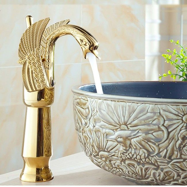 56 best Gold Bathroom Sink Faucet images on Pinterest | Gold ...