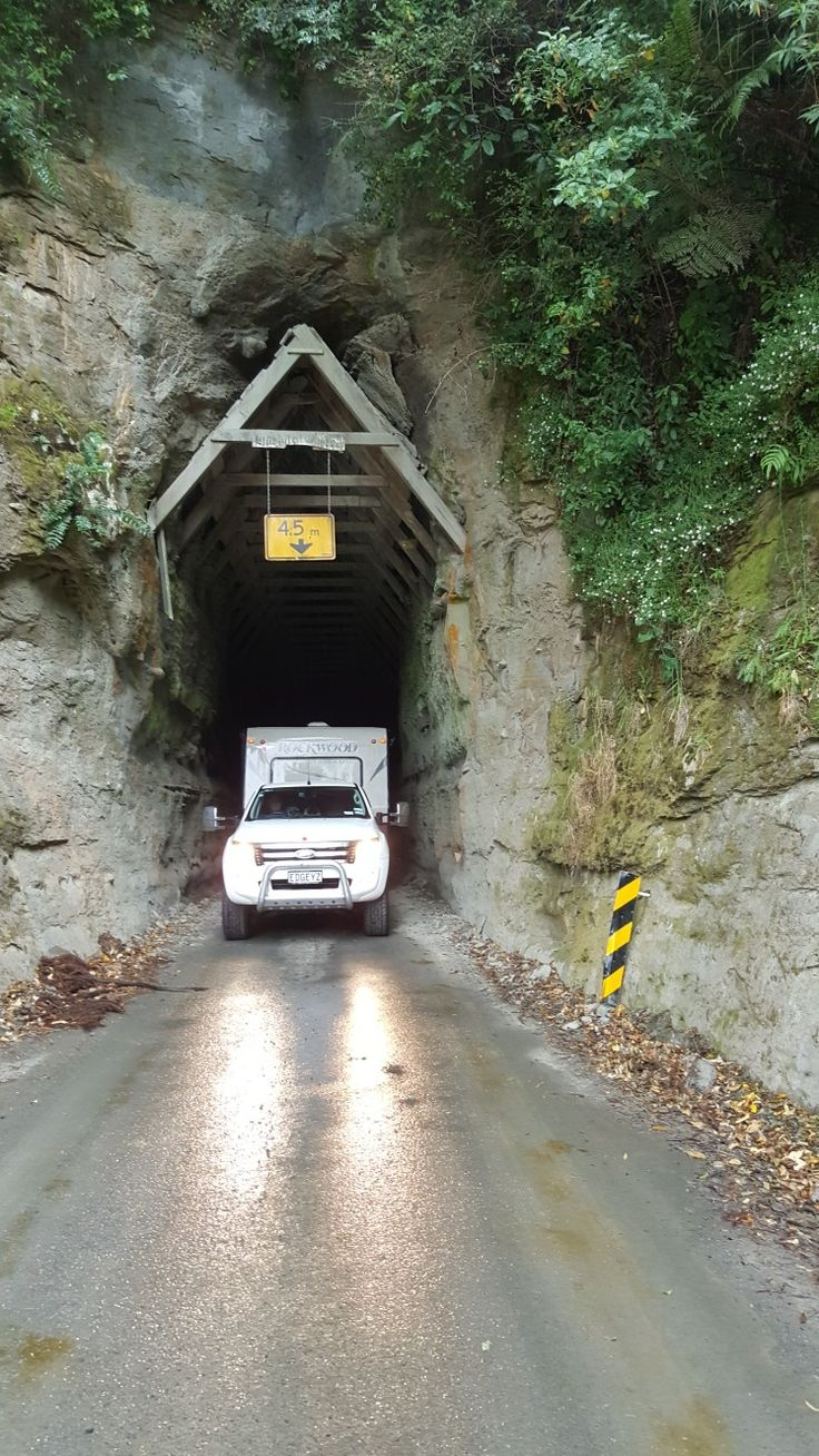 The tunnel on the Forgotten Highway