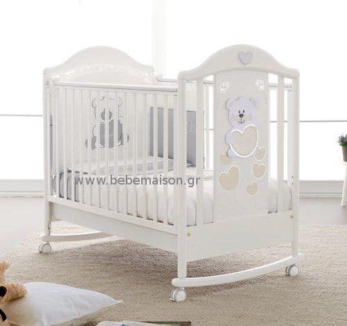 Βρεφικό δωμάτιο - Βρεφικά κρεβάτια - Κούνιες για μωρά - Βρεφικό κρεβάτι Pali Baby Baby και δώρο το στρώμα Cocolatex