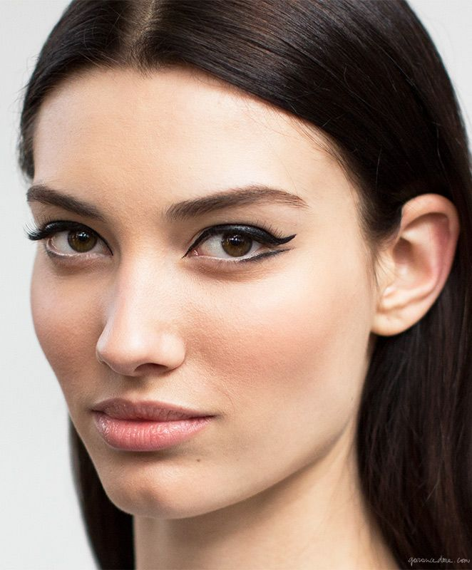 Dior beauty, winged eyes / Garance Doré