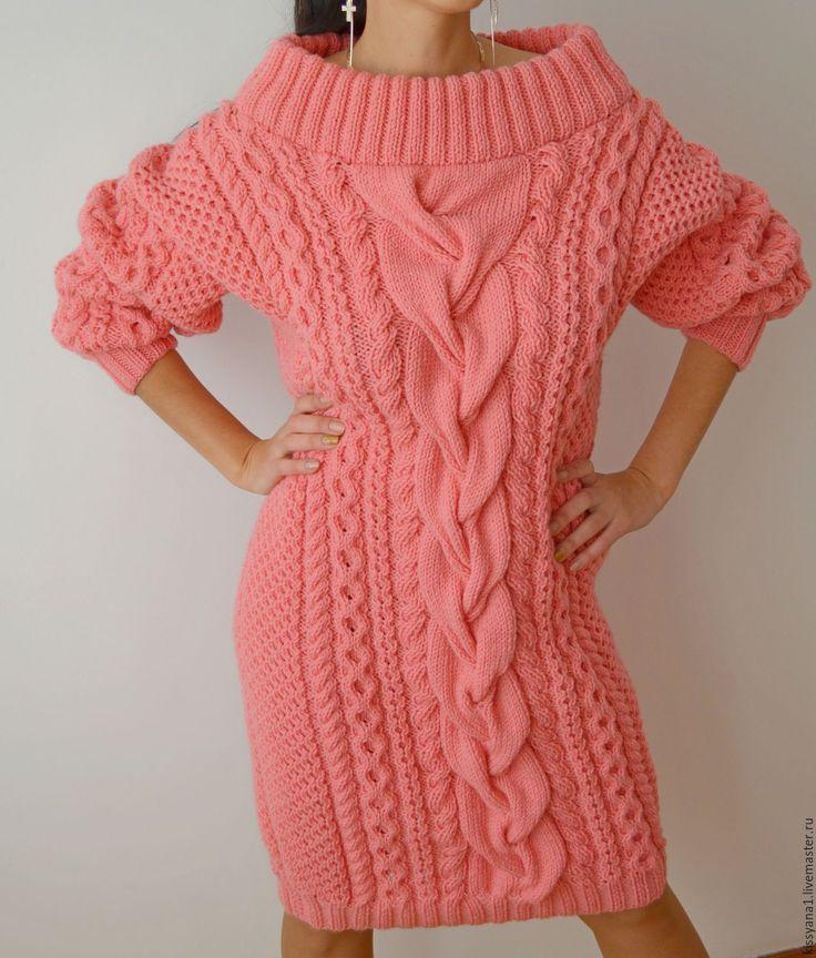 """Купить Платье в стиле Рубан """"Juicy watermelon"""" - коралловый, платье, платье ручной работы, рубан"""