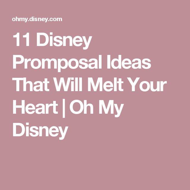 11 Disney Promposal Ideas That Will Melt Your Heart | Oh My Disney