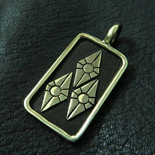 Bronze Rarity pendant