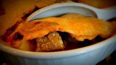 Chicken Pot Pie:  1 protein – 2 vegetables – 2 starches – 1 fat