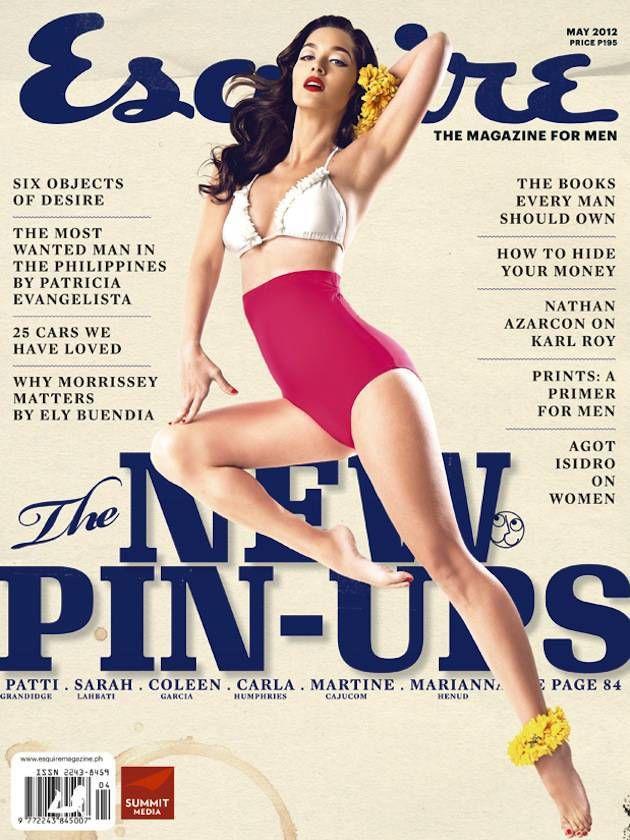 Esquire Philippines, nice vintage feel