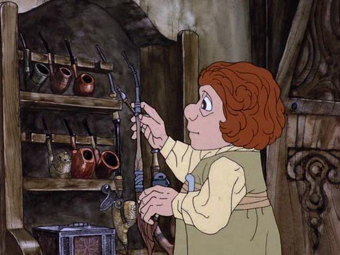 Screencap Gallery for The Hobbit (1977) (Rankin/Bass). Bilbo Baggins the Hobbit…