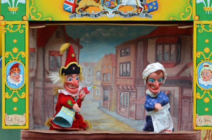 http://en.wikipedia.org/wiki/Punch_and_Judy Punch (of the Punch and Judy show) is a manifestation of the Lord of Misrule and Trickster figures of deep-rooted mythologies. In England, the Lord of Misrule (the Scotts' Abbot of Unreason and the French's Prince des Sots) was an officer appointed by lot at Christmas to preside over the Feast of Fools . . .  to be in charge of Christmas revelries, which often included drunkenness and wild partying, in the pagan tradition of Saturnalia.