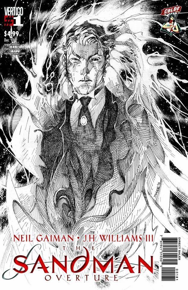 Sandman Overture #1 cover | Jim Lee