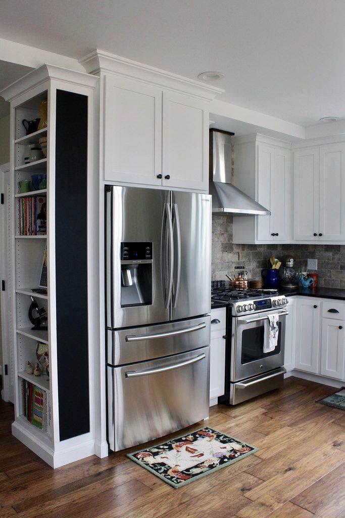 Fabulous Kitchen Pantry Cabinet Pinterest For Your Home Kitchencabinetdesignforsmallkitchen Kitchen Remodel Small Diy Kitchen Renovation Kitchen Design