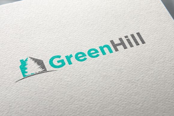 Green Hill Logo by REDVY on Creative Market