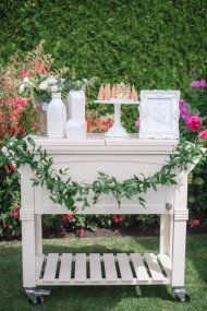 See how celebrity designer and former Bachelorette, Jillian Harris, is celebrating baby with this gorgeous all-white garden shower.