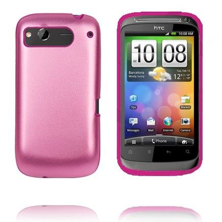 Desire S Guard (Vaaleanpunainen) HTC Desire S Suojakuori