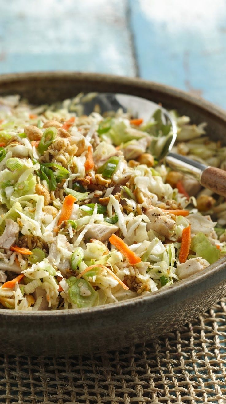 Crunchy Chicken Salad ~ Boy Meets Bowl