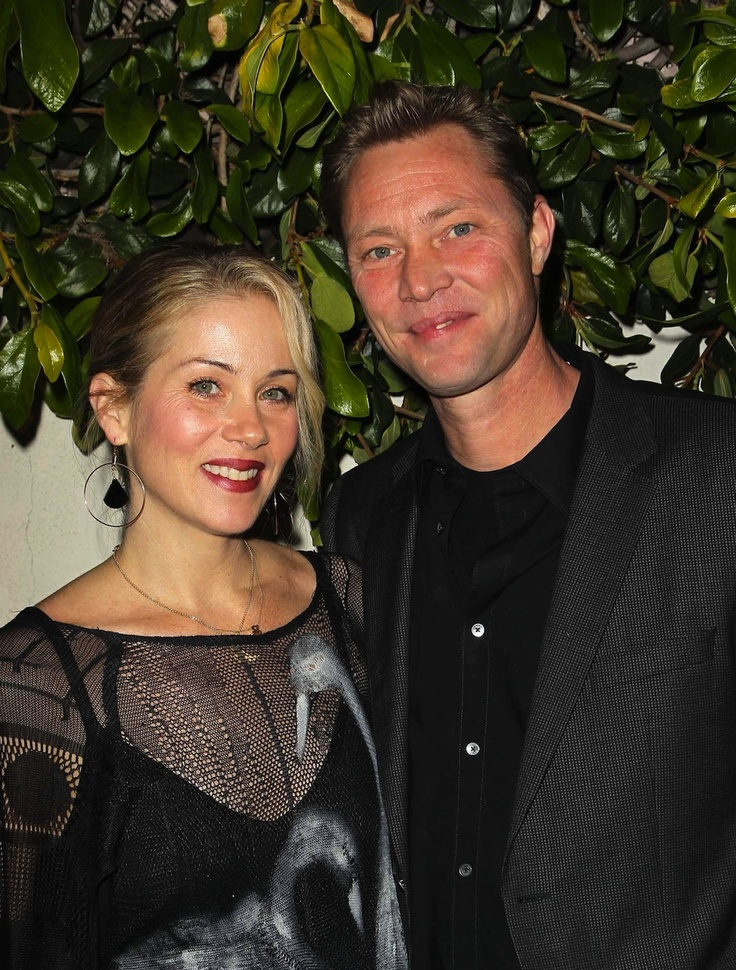 Christina Applegate & Martyn LeNoble