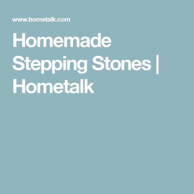 Homemade Stepping Stones | Hometalk