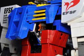 GUNDAM GUY: Echter LEGO-Gundam – RX-78-2 Gundam   – Lego mecha