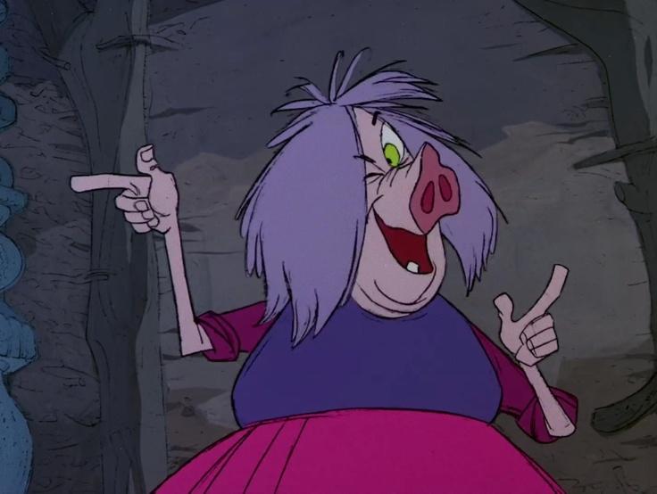 Merlin disney witch - photo#3