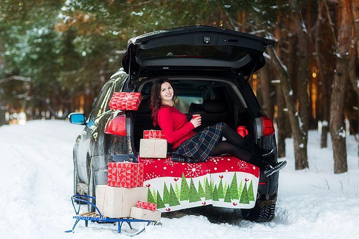 идеи для зимних фотографий на машине недорогую клинику услугой