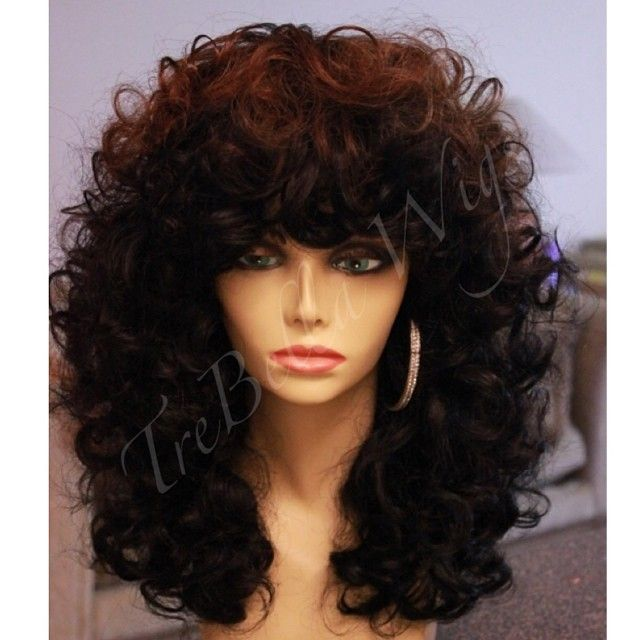 TreBella full unit. Specs: Glam Goddess Beauty's Russian Loose Curly in 18-20/20-22/22-24 inch. Questions? Please visit the website or email us for more info. www.trebellawigs.com. #Padgram