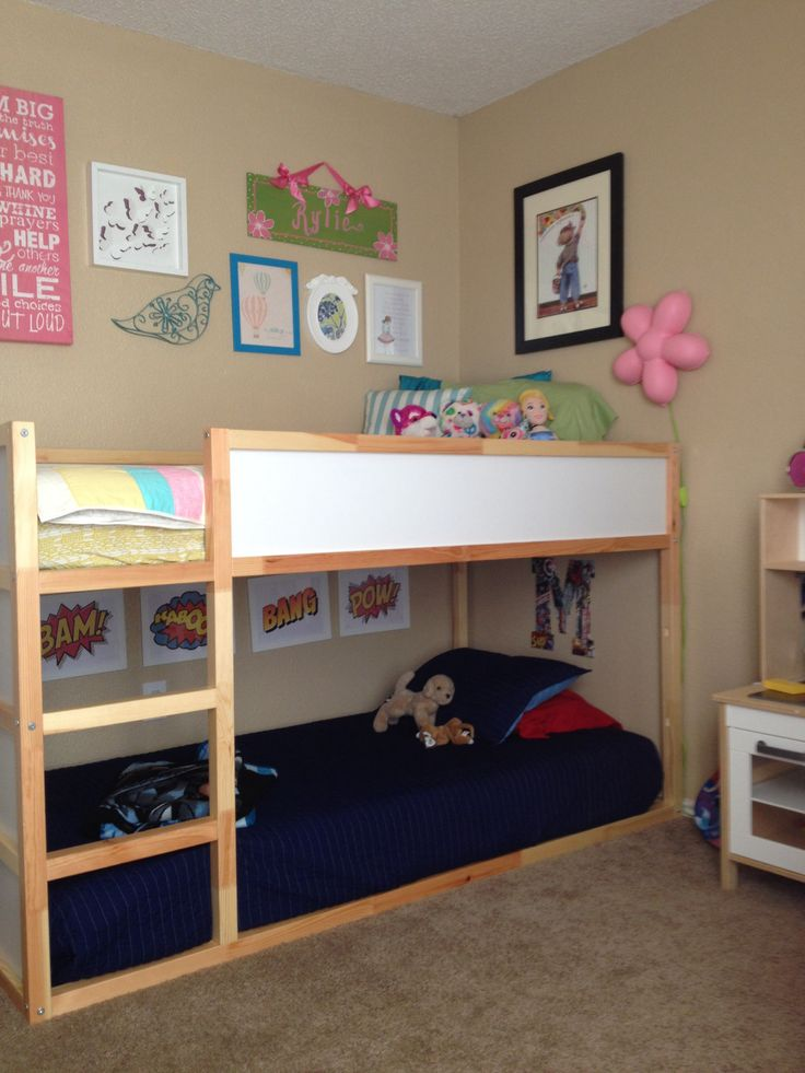 short bunk beds for foster care
