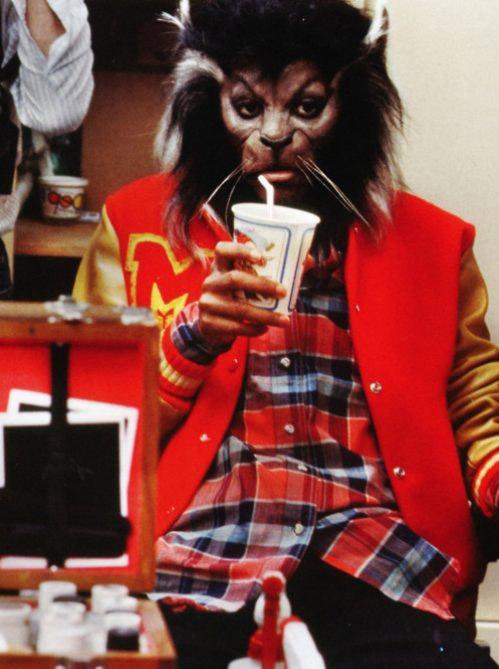Thriller-behind the scenes...